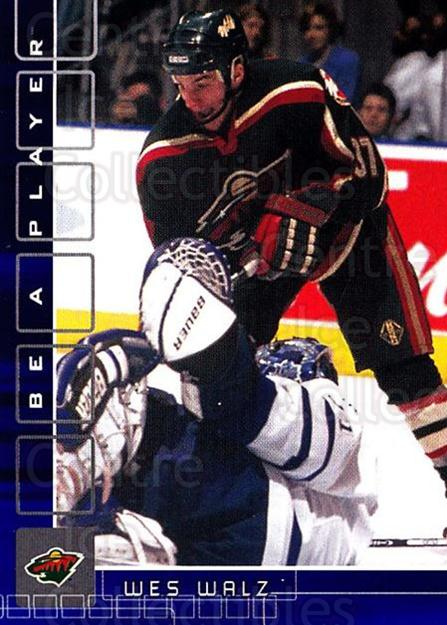 2001-02 BAP Memorabilia Sapphire #156 Wes Walz<br/>1 In Stock - $5.00 each - <a href=https://centericecollectibles.foxycart.com/cart?name=2001-02%20BAP%20Memorabilia%20Sapphire%20%23156%20Wes%20Walz...&quantity_max=1&price=$5.00&code=363829 class=foxycart> Buy it now! </a>