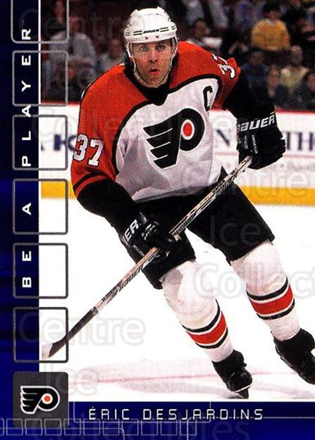 2001-02 BAP Memorabilia Sapphire #159 Eric Desjardins<br/>1 In Stock - $5.00 each - <a href=https://centericecollectibles.foxycart.com/cart?name=2001-02%20BAP%20Memorabilia%20Sapphire%20%23159%20Eric%20Desjardins...&quantity_max=1&price=$5.00&code=363832 class=foxycart> Buy it now! </a>