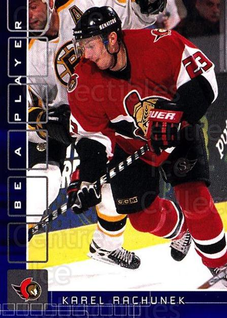 2001-02 BAP Memorabilia Sapphire #162 Karel Rachunek<br/>1 In Stock - $5.00 each - <a href=https://centericecollectibles.foxycart.com/cart?name=2001-02%20BAP%20Memorabilia%20Sapphire%20%23162%20Karel%20Rachunek...&quantity_max=1&price=$5.00&code=363836 class=foxycart> Buy it now! </a>