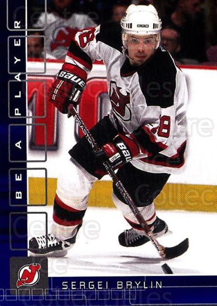 2001-02 BAP Memorabilia Sapphire #166 Sergei Brylin<br/>2 In Stock - $5.00 each - <a href=https://centericecollectibles.foxycart.com/cart?name=2001-02%20BAP%20Memorabilia%20Sapphire%20%23166%20Sergei%20Brylin...&quantity_max=2&price=$5.00&code=363840 class=foxycart> Buy it now! </a>