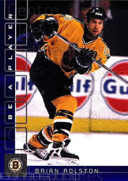 2001-02 BAP Memorabilia Sapphire #170 Brian Rolston<br/>1 In Stock - $5.00 each - <a href=https://centericecollectibles.foxycart.com/cart?name=2001-02%20BAP%20Memorabilia%20Sapphire%20%23170%20Brian%20Rolston...&quantity_max=1&price=$5.00&code=363845 class=foxycart> Buy it now! </a>