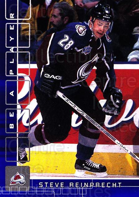 2001-02 BAP Memorabilia Sapphire #174 Steven Reinprecht<br/>2 In Stock - $5.00 each - <a href=https://centericecollectibles.foxycart.com/cart?name=2001-02%20BAP%20Memorabilia%20Sapphire%20%23174%20Steven%20Reinprec...&quantity_max=2&price=$5.00&code=363849 class=foxycart> Buy it now! </a>