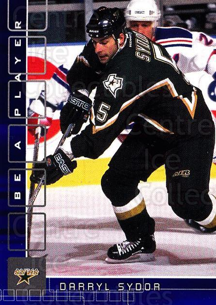 2001-02 BAP Memorabilia Sapphire #176 Darryl Sydor<br/>2 In Stock - $5.00 each - <a href=https://centericecollectibles.foxycart.com/cart?name=2001-02%20BAP%20Memorabilia%20Sapphire%20%23176%20Darryl%20Sydor...&quantity_max=2&price=$5.00&code=363851 class=foxycart> Buy it now! </a>