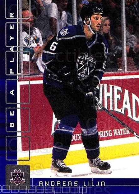 2001-02 BAP Memorabilia Sapphire #179 Andreas Lilja<br/>1 In Stock - $5.00 each - <a href=https://centericecollectibles.foxycart.com/cart?name=2001-02%20BAP%20Memorabilia%20Sapphire%20%23179%20Andreas%20Lilja...&quantity_max=1&price=$5.00&code=363854 class=foxycart> Buy it now! </a>