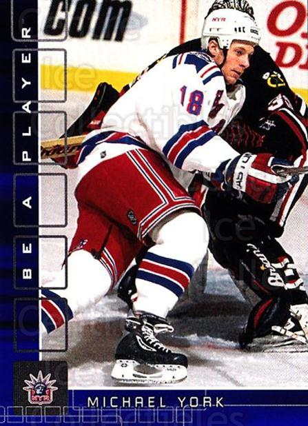 2001-02 BAP Memorabilia Sapphire #18 Mike York<br/>1 In Stock - $5.00 each - <a href=https://centericecollectibles.foxycart.com/cart?name=2001-02%20BAP%20Memorabilia%20Sapphire%20%2318%20Mike%20York...&quantity_max=1&price=$5.00&code=363855 class=foxycart> Buy it now! </a>