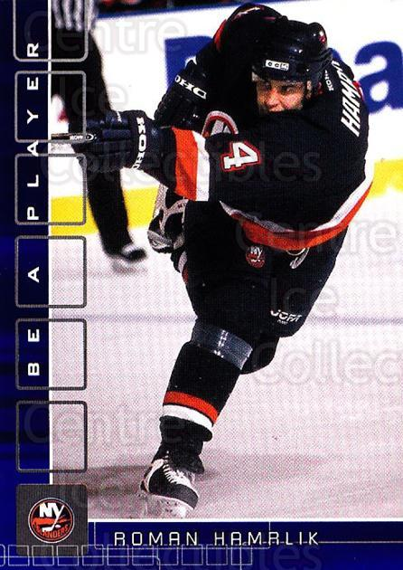 2001-02 BAP Memorabilia Sapphire #180 Roman Hamrlik<br/>1 In Stock - $5.00 each - <a href=https://centericecollectibles.foxycart.com/cart?name=2001-02%20BAP%20Memorabilia%20Sapphire%20%23180%20Roman%20Hamrlik...&quantity_max=1&price=$5.00&code=363856 class=foxycart> Buy it now! </a>