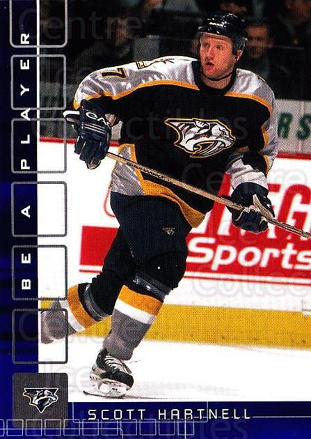 2001-02 BAP Memorabilia Sapphire #182 Scott Hartnell<br/>1 In Stock - $5.00 each - <a href=https://centericecollectibles.foxycart.com/cart?name=2001-02%20BAP%20Memorabilia%20Sapphire%20%23182%20Scott%20Hartnell...&quantity_max=1&price=$5.00&code=363858 class=foxycart> Buy it now! </a>