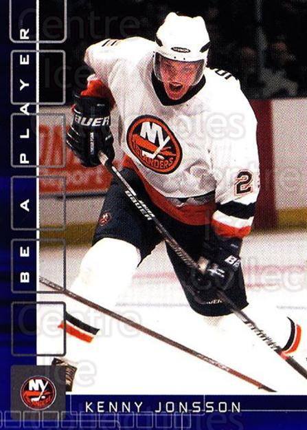 2001-02 BAP Memorabilia Sapphire #183 Kenny Jonsson<br/>1 In Stock - $5.00 each - <a href=https://centericecollectibles.foxycart.com/cart?name=2001-02%20BAP%20Memorabilia%20Sapphire%20%23183%20Kenny%20Jonsson...&quantity_max=1&price=$5.00&code=363859 class=foxycart> Buy it now! </a>