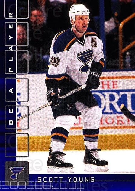 2001-02 BAP Memorabilia Sapphire #187 Scott Young<br/>1 In Stock - $5.00 each - <a href=https://centericecollectibles.foxycart.com/cart?name=2001-02%20BAP%20Memorabilia%20Sapphire%20%23187%20Scott%20Young...&quantity_max=1&price=$5.00&code=363863 class=foxycart> Buy it now! </a>