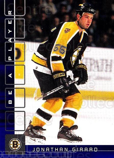 2001-02 BAP Memorabilia Sapphire #191 Jonathan Girard<br/>1 In Stock - $5.00 each - <a href=https://centericecollectibles.foxycart.com/cart?name=2001-02%20BAP%20Memorabilia%20Sapphire%20%23191%20Jonathan%20Girard...&quantity_max=1&price=$5.00&code=363868 class=foxycart> Buy it now! </a>