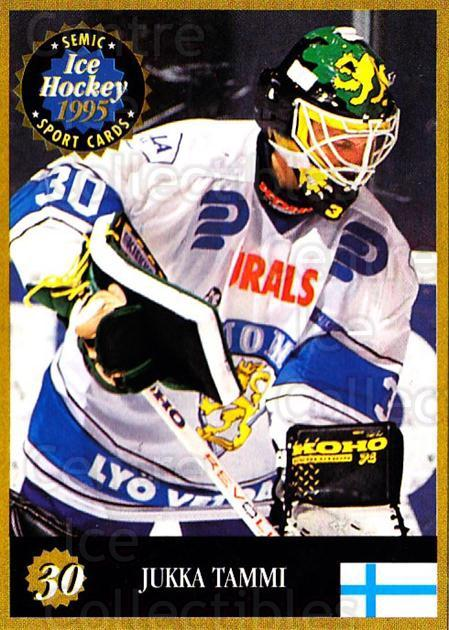 1995 Finnish Semic World Championships #30 Jukka Tammi<br/>10 In Stock - $2.00 each - <a href=https://centericecollectibles.foxycart.com/cart?name=1995%20Finnish%20Semic%20World%20Championships%20%2330%20Jukka%20Tammi...&quantity_max=10&price=$2.00&code=36388 class=foxycart> Buy it now! </a>