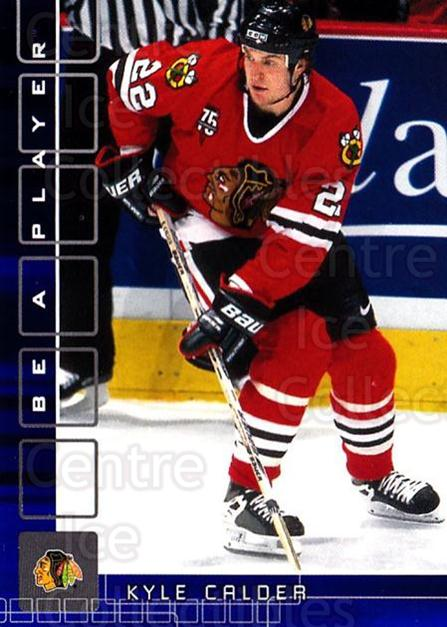 2001-02 BAP Memorabilia Sapphire #236 Kyle Calder<br/>1 In Stock - $5.00 each - <a href=https://centericecollectibles.foxycart.com/cart?name=2001-02%20BAP%20Memorabilia%20Sapphire%20%23236%20Kyle%20Calder...&quantity_max=1&price=$5.00&code=363915 class=foxycart> Buy it now! </a>