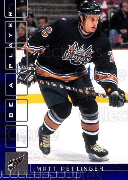 2001-02 BAP Memorabilia Sapphire #245 Matt Pettinger<br/>1 In Stock - $5.00 each - <a href=https://centericecollectibles.foxycart.com/cart?name=2001-02%20BAP%20Memorabilia%20Sapphire%20%23245%20Matt%20Pettinger...&quantity_max=1&price=$5.00&code=363924 class=foxycart> Buy it now! </a>