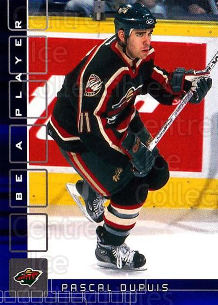 2001-02 BAP Memorabilia Sapphire #247 Pascal Dupuis<br/>2 In Stock - $5.00 each - <a href=https://centericecollectibles.foxycart.com/cart?name=2001-02%20BAP%20Memorabilia%20Sapphire%20%23247%20Pascal%20Dupuis...&quantity_max=2&price=$5.00&code=363926 class=foxycart> Buy it now! </a>