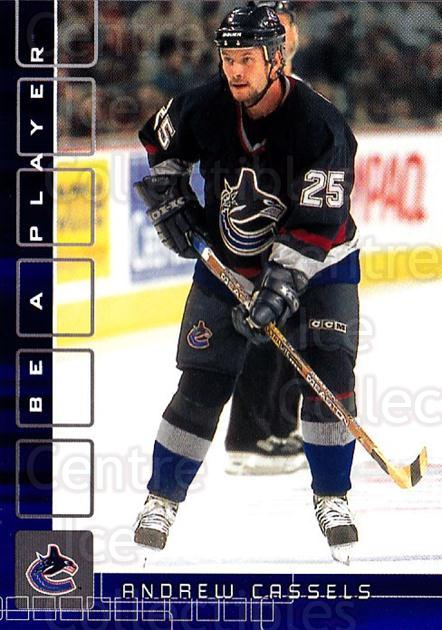 2001-02 BAP Memorabilia Sapphire #254 Andrew Cassels<br/>1 In Stock - $5.00 each - <a href=https://centericecollectibles.foxycart.com/cart?name=2001-02%20BAP%20Memorabilia%20Sapphire%20%23254%20Andrew%20Cassels...&quantity_max=1&price=$5.00&code=363933 class=foxycart> Buy it now! </a>