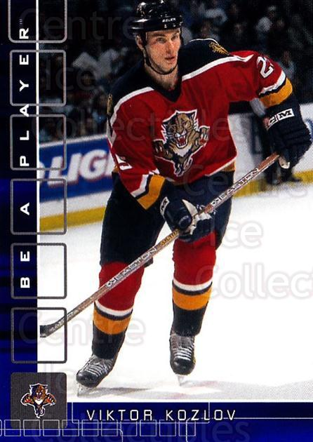 2001-02 BAP Memorabilia Sapphire #259 Viktor Kozlov<br/>2 In Stock - $5.00 each - <a href=https://centericecollectibles.foxycart.com/cart?name=2001-02%20BAP%20Memorabilia%20Sapphire%20%23259%20Viktor%20Kozlov...&quantity_max=2&price=$5.00&code=363938 class=foxycart> Buy it now! </a>