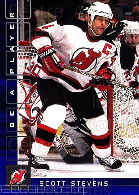 2001-02 BAP Memorabilia Sapphire #26 Scott Stevens<br/>1 In Stock - $5.00 each - <a href=https://centericecollectibles.foxycart.com/cart?name=2001-02%20BAP%20Memorabilia%20Sapphire%20%2326%20Scott%20Stevens...&quantity_max=1&price=$5.00&code=363939 class=foxycart> Buy it now! </a>