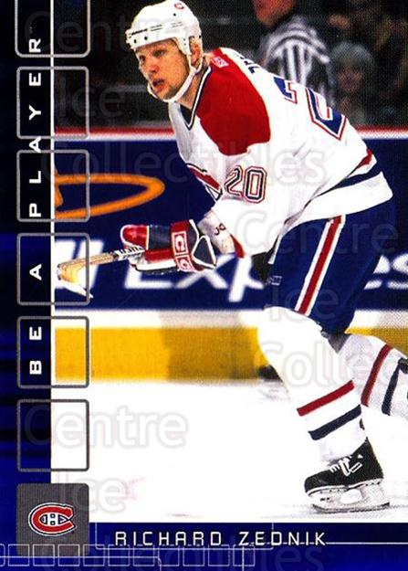 2001-02 BAP Memorabilia Sapphire #261 Richard Zednik<br/>2 In Stock - $5.00 each - <a href=https://centericecollectibles.foxycart.com/cart?name=2001-02%20BAP%20Memorabilia%20Sapphire%20%23261%20Richard%20Zednik...&quantity_max=2&price=$5.00&code=363941 class=foxycart> Buy it now! </a>