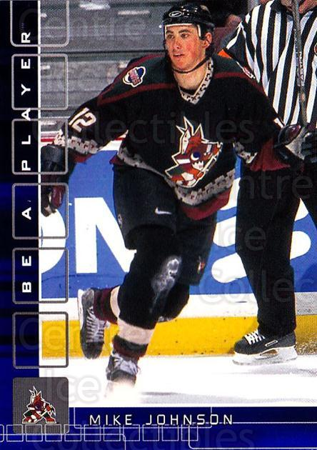 2001-02 BAP Memorabilia Sapphire #264 Mike Johnson<br/>1 In Stock - $5.00 each - <a href=https://centericecollectibles.foxycart.com/cart?name=2001-02%20BAP%20Memorabilia%20Sapphire%20%23264%20Mike%20Johnson...&quantity_max=1&price=$5.00&code=363944 class=foxycart> Buy it now! </a>