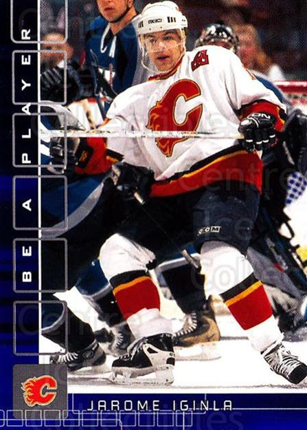 2001-02 BAP Memorabilia Sapphire #275 Jarome Iginla<br/>1 In Stock - $5.00 each - <a href=https://centericecollectibles.foxycart.com/cart?name=2001-02%20BAP%20Memorabilia%20Sapphire%20%23275%20Jarome%20Iginla...&quantity_max=1&price=$5.00&code=363956 class=foxycart> Buy it now! </a>