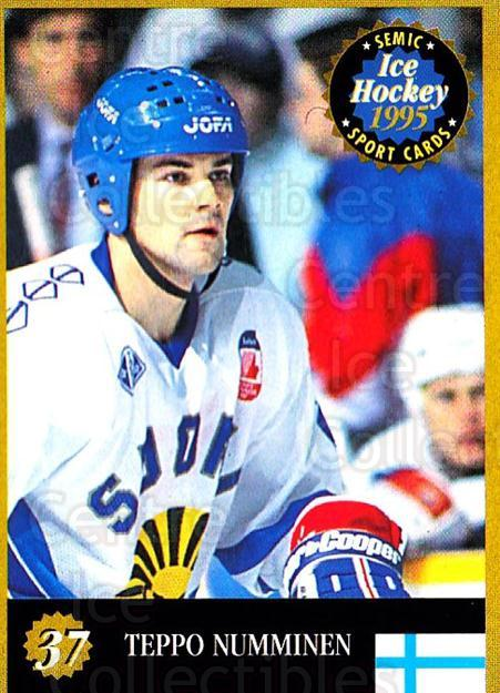 1995 Finnish Semic World Championships #37 Teppo Numminen<br/>11 In Stock - $2.00 each - <a href=https://centericecollectibles.foxycart.com/cart?name=1995%20Finnish%20Semic%20World%20Championships%20%2337%20Teppo%20Numminen...&quantity_max=11&price=$2.00&code=36395 class=foxycart> Buy it now! </a>
