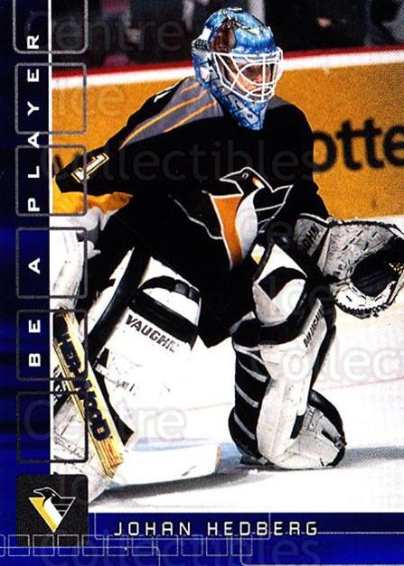 2001-02 BAP Memorabilia Sapphire #28 Johan Hedberg<br/>1 In Stock - $5.00 each - <a href=https://centericecollectibles.foxycart.com/cart?name=2001-02%20BAP%20Memorabilia%20Sapphire%20%2328%20Johan%20Hedberg...&quantity_max=1&price=$5.00&code=363961 class=foxycart> Buy it now! </a>
