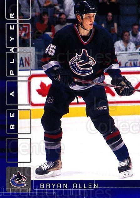 2001-02 BAP Memorabilia Sapphire #299 Bryan Allen<br/>1 In Stock - $5.00 each - <a href=https://centericecollectibles.foxycart.com/cart?name=2001-02%20BAP%20Memorabilia%20Sapphire%20%23299%20Bryan%20Allen...&quantity_max=1&price=$5.00&code=363981 class=foxycart> Buy it now! </a>