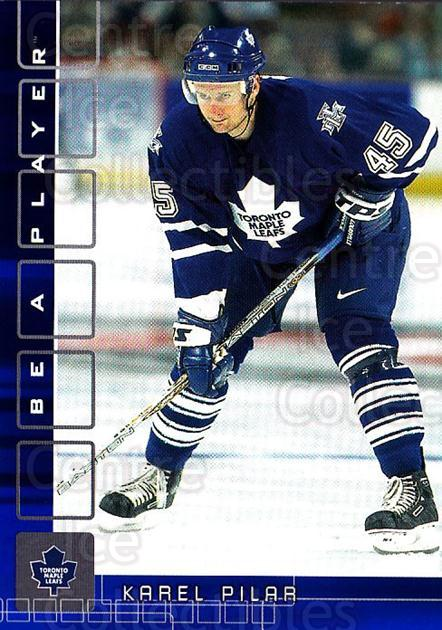 2001-02 BAP Memorabilia Sapphire #312 Karel Pilar<br/>1 In Stock - $5.00 each - <a href=https://centericecollectibles.foxycart.com/cart?name=2001-02%20BAP%20Memorabilia%20Sapphire%20%23312%20Karel%20Pilar...&quantity_max=1&price=$5.00&code=363994 class=foxycart> Buy it now! </a>