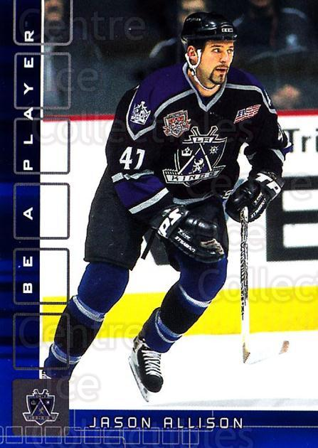 2001-02 BAP Memorabilia Sapphire #314 Jason Allison<br/>2 In Stock - $5.00 each - <a href=https://centericecollectibles.foxycart.com/cart?name=2001-02%20BAP%20Memorabilia%20Sapphire%20%23314%20Jason%20Allison...&quantity_max=2&price=$5.00&code=363996 class=foxycart> Buy it now! </a>
