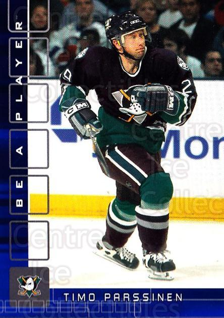 2001-02 BAP Memorabilia Sapphire #327 Timo Parssinen<br/>1 In Stock - $5.00 each - <a href=https://centericecollectibles.foxycart.com/cart?name=2001-02%20BAP%20Memorabilia%20Sapphire%20%23327%20Timo%20Parssinen...&quantity_max=1&price=$5.00&code=364007 class=foxycart> Buy it now! </a>