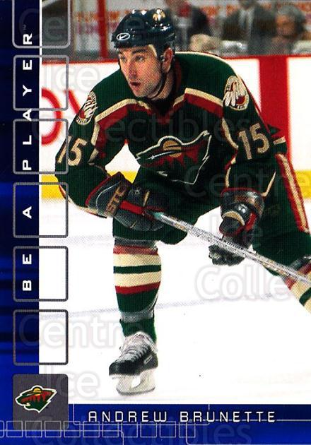 2001-02 BAP Memorabilia Sapphire #334 Andrew Brunette<br/>1 In Stock - $5.00 each - <a href=https://centericecollectibles.foxycart.com/cart?name=2001-02%20BAP%20Memorabilia%20Sapphire%20%23334%20Andrew%20Brunette...&quantity_max=1&price=$5.00&code=364013 class=foxycart> Buy it now! </a>