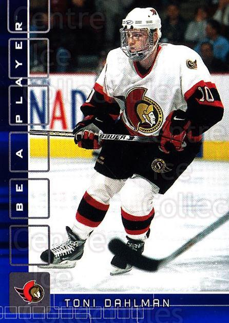 2001-02 BAP Memorabilia Sapphire #335 Toni Dahlman<br/>1 In Stock - $5.00 each - <a href=https://centericecollectibles.foxycart.com/cart?name=2001-02%20BAP%20Memorabilia%20Sapphire%20%23335%20Toni%20Dahlman...&quantity_max=1&price=$5.00&code=364014 class=foxycart> Buy it now! </a>