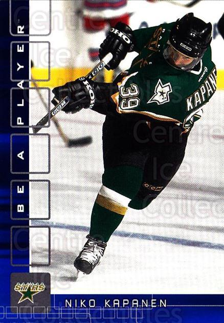 2001-02 BAP Memorabilia Sapphire #348 Niko Kapanen<br/>1 In Stock - $5.00 each - <a href=https://centericecollectibles.foxycart.com/cart?name=2001-02%20BAP%20Memorabilia%20Sapphire%20%23348%20Niko%20Kapanen...&quantity_max=1&price=$5.00&code=364024 class=foxycart> Buy it now! </a>