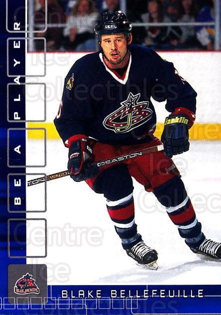 2001-02 BAP Memorabilia Sapphire #362 Blake Bellefeuille<br/>1 In Stock - $5.00 each - <a href=https://centericecollectibles.foxycart.com/cart?name=2001-02%20BAP%20Memorabilia%20Sapphire%20%23362%20Blake%20Bellefeui...&quantity_max=1&price=$5.00&code=364037 class=foxycart> Buy it now! </a>