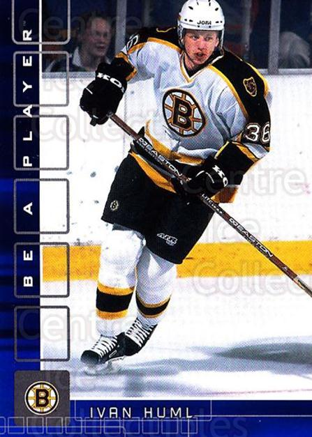 2001-02 BAP Memorabilia Sapphire #367 Ivan Huml<br/>1 In Stock - $5.00 each - <a href=https://centericecollectibles.foxycart.com/cart?name=2001-02%20BAP%20Memorabilia%20Sapphire%20%23367%20Ivan%20Huml...&quantity_max=1&price=$5.00&code=364042 class=foxycart> Buy it now! </a>