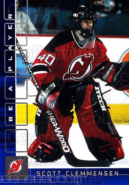 2001-02 BAP Memorabilia Sapphire #374 Scott Clemmensen<br/>1 In Stock - $5.00 each - <a href=https://centericecollectibles.foxycart.com/cart?name=2001-02%20BAP%20Memorabilia%20Sapphire%20%23374%20Scott%20Clemmense...&quantity_max=1&price=$5.00&code=364049 class=foxycart> Buy it now! </a>