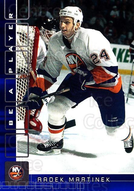 2001-02 BAP Memorabilia Sapphire #384 Radek Martinek<br/>3 In Stock - $5.00 each - <a href=https://centericecollectibles.foxycart.com/cart?name=2001-02%20BAP%20Memorabilia%20Sapphire%20%23384%20Radek%20Martinek...&quantity_max=3&price=$5.00&code=364059 class=foxycart> Buy it now! </a>