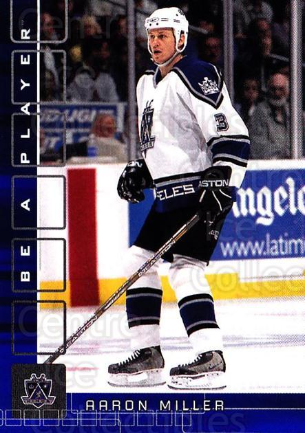 2001-02 BAP Memorabilia Sapphire #39 Aaron Miller<br/>1 In Stock - $5.00 each - <a href=https://centericecollectibles.foxycart.com/cart?name=2001-02%20BAP%20Memorabilia%20Sapphire%20%2339%20Aaron%20Miller...&quantity_max=1&price=$5.00&code=364065 class=foxycart> Buy it now! </a>
