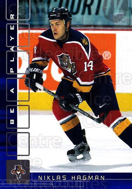2001-02 BAP Memorabilia Sapphire #398 Niklas Hagman<br/>1 In Stock - $5.00 each - <a href=https://centericecollectibles.foxycart.com/cart?name=2001-02%20BAP%20Memorabilia%20Sapphire%20%23398%20Niklas%20Hagman...&quantity_max=1&price=$5.00&code=364073 class=foxycart> Buy it now! </a>