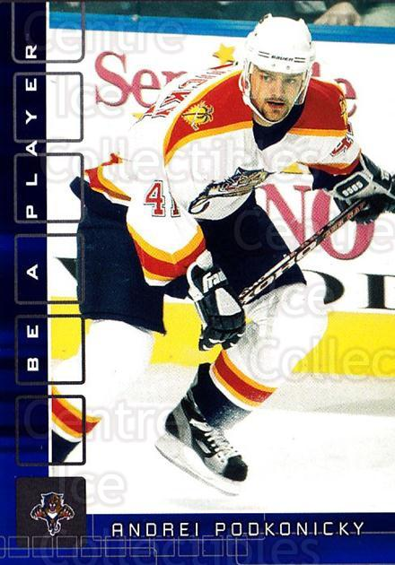 2001-02 BAP Memorabilia Sapphire #404 Andrei Podkonicky<br/>1 In Stock - $5.00 each - <a href=https://centericecollectibles.foxycart.com/cart?name=2001-02%20BAP%20Memorabilia%20Sapphire%20%23404%20Andrei%20Podkonic...&quantity_max=1&price=$5.00&code=364079 class=foxycart> Buy it now! </a>
