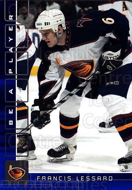 2001-02 BAP Memorabilia Sapphire #420 Francis Lessard<br/>1 In Stock - $5.00 each - <a href=https://centericecollectibles.foxycart.com/cart?name=2001-02%20BAP%20Memorabilia%20Sapphire%20%23420%20Francis%20Lessard...&quantity_max=1&price=$5.00&code=364092 class=foxycart> Buy it now! </a>