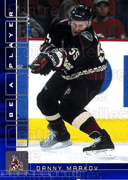 2001-02 BAP Memorabilia Sapphire #424 Danny Markov<br/>2 In Stock - $5.00 each - <a href=https://centericecollectibles.foxycart.com/cart?name=2001-02%20BAP%20Memorabilia%20Sapphire%20%23424%20Danny%20Markov...&quantity_max=2&price=$5.00&code=364096 class=foxycart> Buy it now! </a>