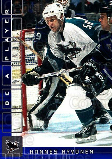 2001-02 BAP Memorabilia Sapphire #426 Hannes Hyvonen<br/>1 In Stock - $5.00 each - <a href=https://centericecollectibles.foxycart.com/cart?name=2001-02%20BAP%20Memorabilia%20Sapphire%20%23426%20Hannes%20Hyvonen...&quantity_max=1&price=$5.00&code=364098 class=foxycart> Buy it now! </a>