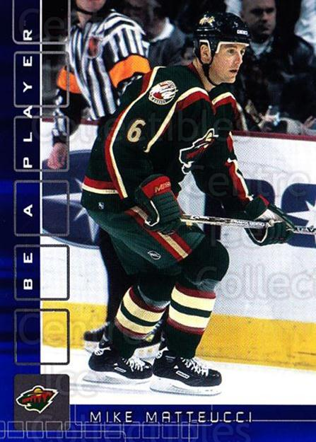 2001-02 BAP Memorabilia Sapphire #441 Mike Matteucci<br/>1 In Stock - $5.00 each - <a href=https://centericecollectibles.foxycart.com/cart?name=2001-02%20BAP%20Memorabilia%20Sapphire%20%23441%20Mike%20Matteucci...&quantity_max=1&price=$5.00&code=364115 class=foxycart> Buy it now! </a>