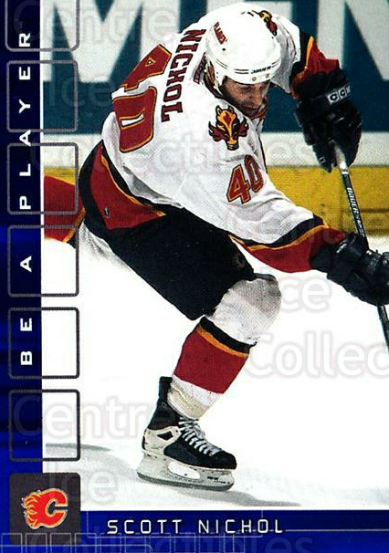 2001-02 BAP Memorabilia Sapphire #446 Scott Nichol<br/>1 In Stock - $5.00 each - <a href=https://centericecollectibles.foxycart.com/cart?name=2001-02%20BAP%20Memorabilia%20Sapphire%20%23446%20Scott%20Nichol...&quantity_max=1&price=$5.00&code=364119 class=foxycart> Buy it now! </a>