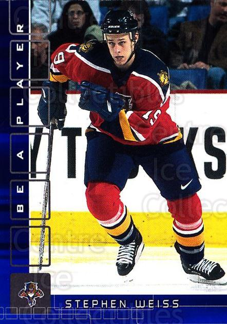 2001-02 BAP Memorabilia Sapphire #448 Stephen Weiss<br/>1 In Stock - $5.00 each - <a href=https://centericecollectibles.foxycart.com/cart?name=2001-02%20BAP%20Memorabilia%20Sapphire%20%23448%20Stephen%20Weiss...&quantity_max=1&price=$5.00&code=364121 class=foxycart> Buy it now! </a>