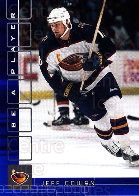 2001-02 BAP Memorabilia Sapphire #449 Jeff Cowan<br/>2 In Stock - $5.00 each - <a href=https://centericecollectibles.foxycart.com/cart?name=2001-02%20BAP%20Memorabilia%20Sapphire%20%23449%20Jeff%20Cowan...&quantity_max=2&price=$5.00&code=364122 class=foxycart> Buy it now! </a>