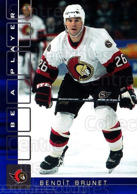 2001-02 BAP Memorabilia Sapphire #456 Benoit Brunet<br/>1 In Stock - $5.00 each - <a href=https://centericecollectibles.foxycart.com/cart?name=2001-02%20BAP%20Memorabilia%20Sapphire%20%23456%20Benoit%20Brunet...&quantity_max=1&price=$5.00&code=364128 class=foxycart> Buy it now! </a>