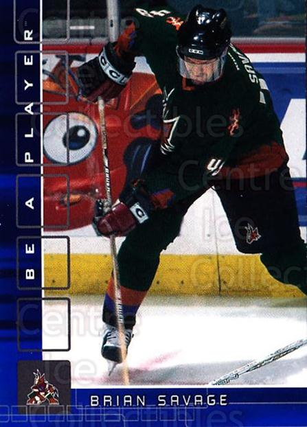 2001-02 BAP Memorabilia Sapphire #458 Brian Savage<br/>2 In Stock - $5.00 each - <a href=https://centericecollectibles.foxycart.com/cart?name=2001-02%20BAP%20Memorabilia%20Sapphire%20%23458%20Brian%20Savage...&quantity_max=2&price=$5.00&code=364130 class=foxycart> Buy it now! </a>