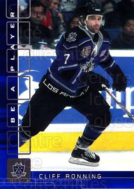 2001-02 BAP Memorabilia Sapphire #459 Cliff Ronning<br/>2 In Stock - $5.00 each - <a href=https://centericecollectibles.foxycart.com/cart?name=2001-02%20BAP%20Memorabilia%20Sapphire%20%23459%20Cliff%20Ronning...&quantity_max=2&price=$5.00&code=364131 class=foxycart> Buy it now! </a>